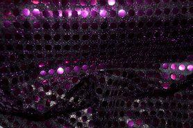 Lamee/Paillettenstoff - NB 5585-045 NB Paillette violett