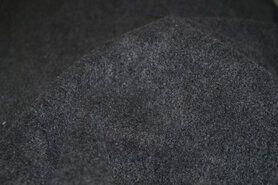 Fleece stoffen - NB 9112-068 Fleece donkergrijs (gemeleerd)