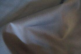 97% katoen, 3% spandex - NB 3122-067 Satin stretch grijs op=op