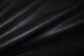 Abwischbare - KN 15/16 0541-999 Unique Leather schwarz