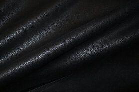 Kunstleder und Suedine - KN 15/16 0541-999 Unique Leather schwarz