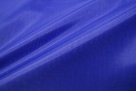 Paarse stoffen - NB 7800-005 Voering kobaltblauw