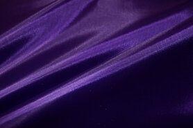 Paarse stoffen - NB 7800-047 Voering donkerpaars