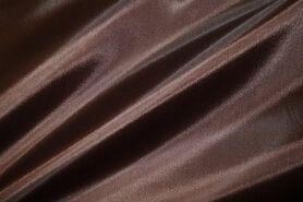 Voeren van een kledingstuk stoffen - NB 7800-055 Voering donkerbruin