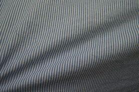 Blauwe gordijnstof - Ptx 997487-801 Jeans gestreept lichtblauw