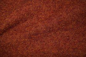 Mantelstoffen - NB 4578-156 Gekookte wol roest