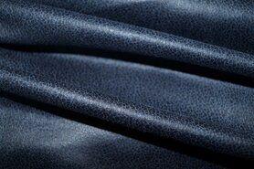 92% polyester, 8% elastan - KN19 0541-690 Unique Leather blauw