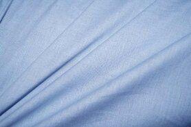 Blauwe vitrages - Cotton for Kids Batist lovely (licht) blue