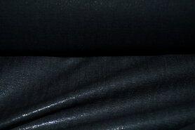 Versteviging/tussenvoering* - Plakkatoen zwart (96156)*