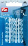 Diversen - *Prym aannaaidrukknopen transparant 7 mm (347.155)*