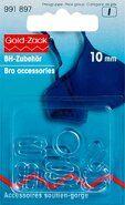 Transparant - *Prym BH vervangsetje 10 mm (991.897)*