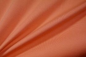Polyester en lycra - NB 9601-136 Tricot Milano licht oranje
