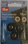 Effen / uni knopen - *Prym Magneetknopen 19mm. (416.470)*
