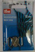 Diversen Prym* - *Prym bikinisluiting 12mm (416.120)