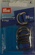 Diversen Prym* - *Prym D ringen 20mm (555.220)