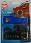 Diversen Prym* - *Prym ringen zwart 14mm (541.384)