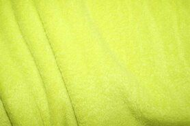 Fleece stoffen - NB 9111-023 Fleece lime/groen