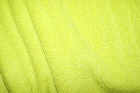 Vest - NB 9111-023 Fleece lime/groen