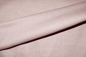 KnipIdee stoffen - KN 0591-091 Stretch linnen poederroze
