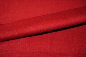 Linnen stof - KN 0591-440 Stretch linnen rood