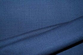KnipIdee stoffen - KN 0591-693 Stretch linnen blauw