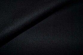 Vest - KN 0591-999 Stretch linnen zwart