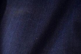 Vest - KN16 0626-060 Stretch denim donkerblauw