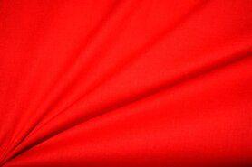 Batist stof - NB 3649-015 Batist fire red