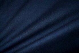 Batist stof - Cotton for kids Batist night blue