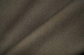 Stugge stoffen - NB 4795-126 Canvas donker legergroen