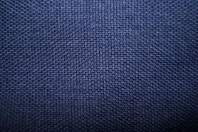 Paarse stoffen - Verduisteringsstof canvas look B180322-I2-X paars/blauw