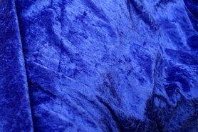 Paars - NB 5666-045 Velours de panne paars