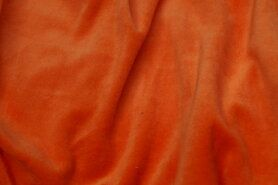 Nicky velours - NB 3081-036 Nicky velours oranje