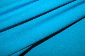 96%viscose, 4%spandex - NB 1773-004 Tricot uni turquoise
