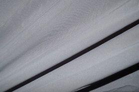 Voile - NB 3969-067 Chiffon uni grijs op=op