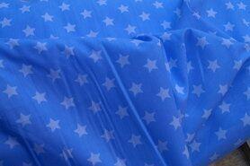 Hundekleidung - NB 5571-002 baumwolle Sterne hellblau