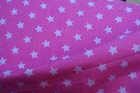 Sjaal - NB 5571-011 Katoen ster roze
