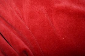 Nicky velours - NB 3081-056 Nicky velours warm rood
