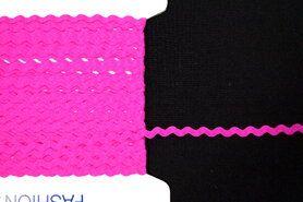 5 mm band - Zigzag band fuchsia
