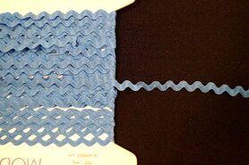 5 mm band - Zigzag band turquoise