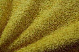 90%katoen/10%polyester - NB 2900-033 Badstof oker (dubbel gelust)