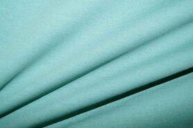 T-Shirt stoffen - NB 5438-323 Tricot uni donker oudgroen
