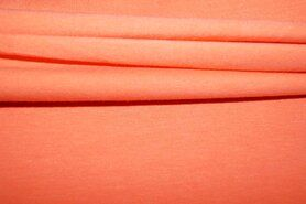 Jersey - NB 5438-136 Trikotstoff dunkel lachs-orange