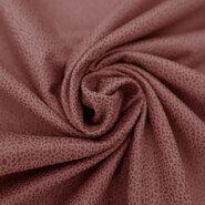 Kunstleer en suedine - KN19 0541-534 Unique leather koraal