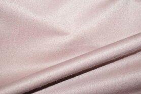 Roze meubelstoffen - Interieur en gordijnstof B065340-U12 Velours ultrasoft oudroze