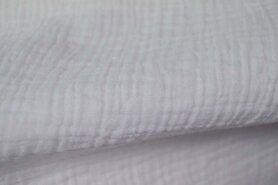 Wateropnemende stoffen - NB 3001-050 Hydrofielstof uni wit