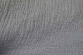 Wateropnemende stoffen - NB 3001-061 Hydrofielstof uni lichtgrijs