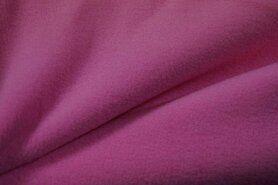 Weekaanbieding fleece 9111 - NB 9111-012 Fleece roze