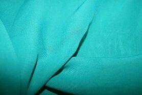 Voile - NB 3969-025 Chiffon uni groen op=op