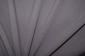 Gordijnstof per meter - NB 3956-054 Crepe Georgette taupe